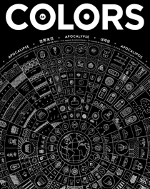Front cover of Colors magazine 84 - Apocalypse: a survival guide